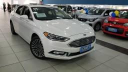 Ford Fusion Gdti ADW 2017 branco pérola com teto solar e apenas 17.000 km!