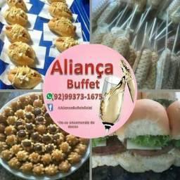 Mini festa adulto Aliança buffet