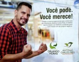 Lotes a prestações Orlando de Moraes e Antônio Carlos Pires