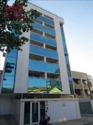 Apartamento com 3 dormitórios para alugar, 95 m² - cavaleiros - macaé/rj