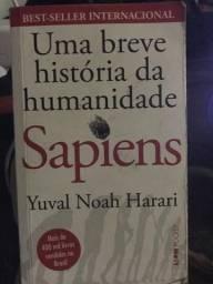 Livro: Uma história da humanidade - Sapiens