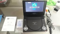 DVD portátil usado em bom , completo com todos acessórios