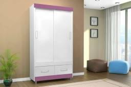 Guarda roupa porta deslizante