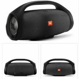 "Speaker JBL Boombox - Bluetooth - Bateria Recarregável 20000mAh - Prova D""água - Preto"