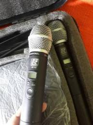 Par de microfones da STANNER modelo sw482 semi novo