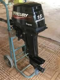 Motor Mercury 15 super - 2015