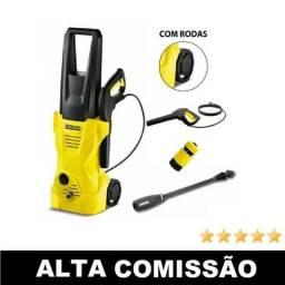 Lavadora De Alta Pressão Com Rodinhas - 1600 Lbs 110v ou 220v