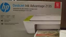 Impressora Hp 2135 3 em 1, imprime, cópia, scaner. Nova