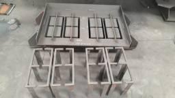 Matrizes para blocos de concreto