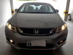 Honda Civic 2015 Automático Novo Completo Impecável de Garagem - 2015