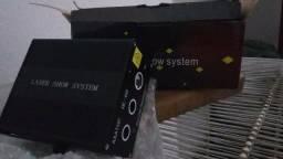 Laser Show Projetor Holográfico Desenhos HI-69 Rgb 250mw