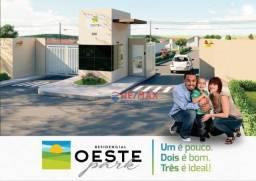 Casa com 2 dormitórios à venda, 51 m² por R$ 122.000 - São Pedro - Vitória da Conquista/BA