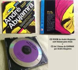 2 CDs do André Abujamra