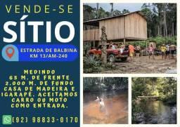 Vende - se um sítio em Presidente Figueiredo, localizado no km 13 da AM-240