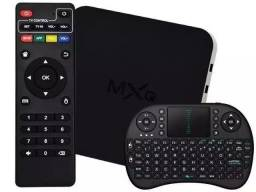 Conversor de televisão para smart tv + mini teclado