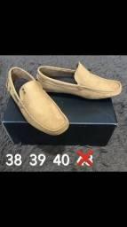 Zera estoque sapatos Mocassim Sk