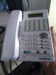 Telefone residencial Intelbras ramal $100