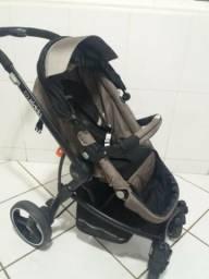 Carrinho Aspen Kiddo + Bebê Conforto + Base