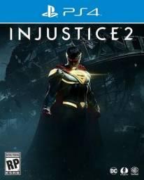 Injustice 2 - Muito novo - PS4