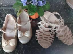 Calçados de meninas
