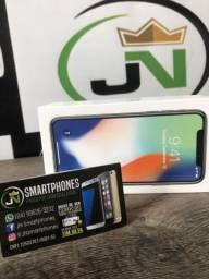 Iphone X 256g lacrado 1 ano de garantia