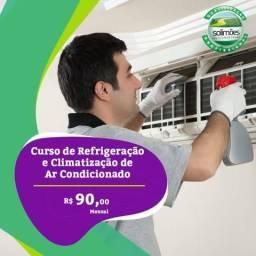 Curso de Refrigeração e Climatização em ar condicionado +NR35