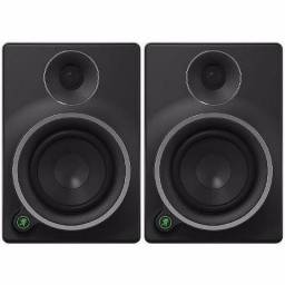2 monitores p/ Estúdio Profissional Mackie MR8 Mk3