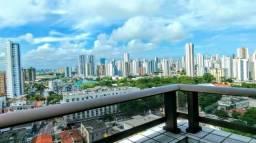 Apartamento no prado 3 quartos com varanda - Nascente - Lazer completo- Oportunidade