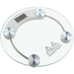 Balança Digital Banheiro Academia Vidro Dieta Pesa Até 180kg Novo Garatia Frete Grátis