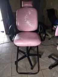 Vendo cadeiras reclináveis para salão