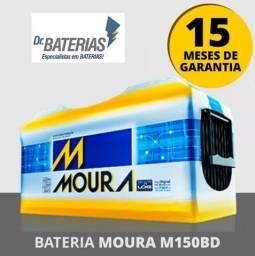 Bateria Moura 150 Amperes R$739,90 - Entrega e Instalação Grátis na Grande João Pessoa
