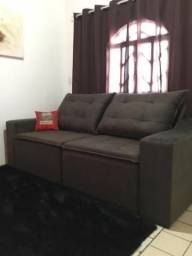 Brasil - Sofa retratil e reclinavel 230de largura - 180 de abertura - pronta entrega