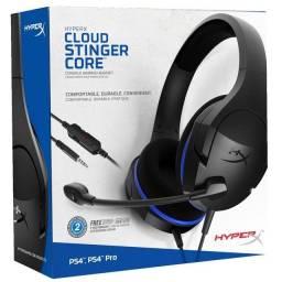 Headset Gamer Hyperx Cloud Stinger Core Ps4 - Ps4  em 12x sem juros