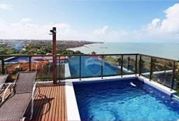 Apartamento com 2 dormitórios para alugar, 70 m² por R$ 800,00/dia - Carapibus - Conde/PB