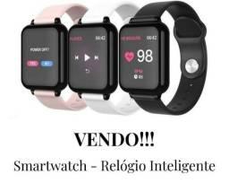 Relógio Smartwatch B 57 - Preto, Branco e Rose