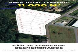 Área em Aparecida de Goiânia para compra e venda com 11 mil m² de 1 quadra fechada