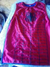 Camisa do homem aranha