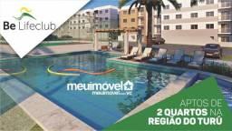 34* Be Life Club - Apartamento 2 quartos, 44m² a 58m² no Turu