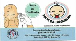 Teste da Orelhinha e da Linguinha