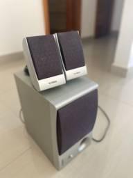 Kit de caixas de som TRS-MS04 para Tyros 4