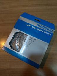 Par De Rotores Shimano RT56 180mm e 160mm