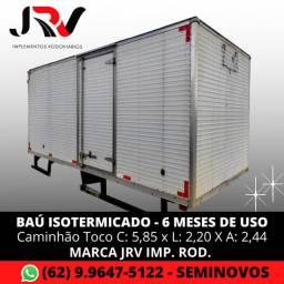 Baú / Furgão Isotérmicado (Térmico) para Caminhão