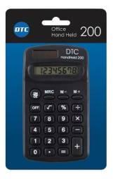 Calculadora Dtc200 Bolso 8 Digítos Solar E Pilha
