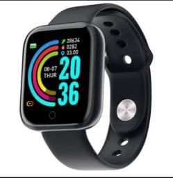 Smartwatch Y68 D20 Bluetooth Android Ios Monitor Cardíaco<br><br>