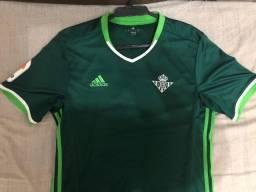 Título do anúncio: Camisa Adidas Real Betis away 2016/17 - Tamanho M