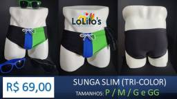 Sunga Slim - Tri-color