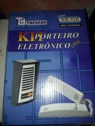 Porteiro eletrônico com fechadura