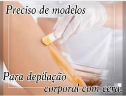 Modelo para depilação