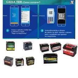Baterias de moto e carro novas e recondicionadas