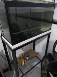 Vendo ou troco aquário completo